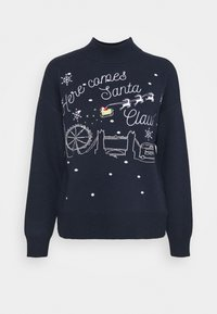 Fashion Union - CHRISTMAS HERE COMES SANTA CLAUS - Jumper - navy - 3