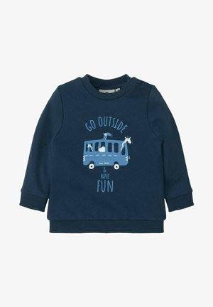 MIT PRINT - Sweatshirt - dress blue/blue