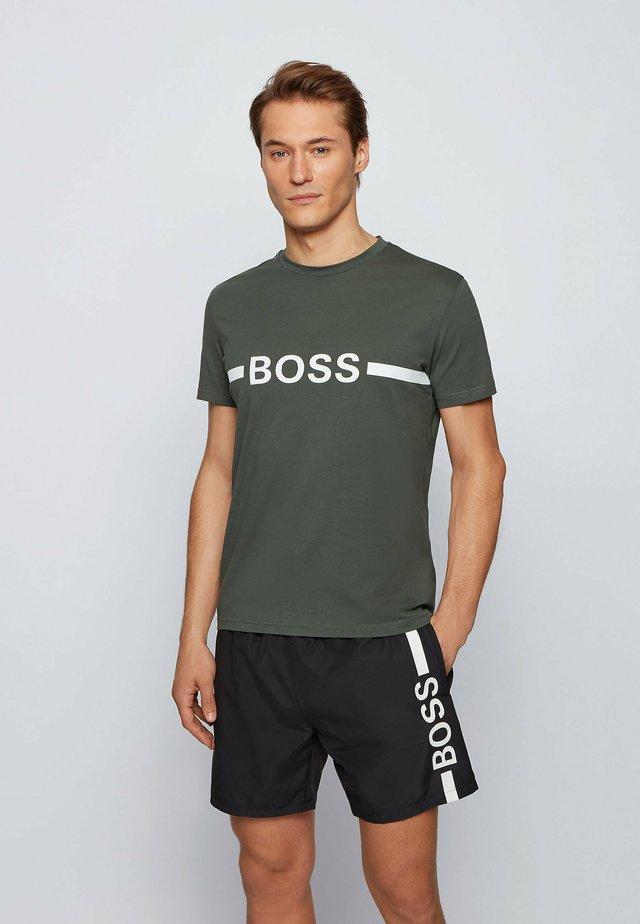 T-shirts print - dark green