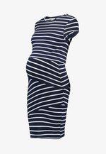 NURSING DRESS - Shift dress - peacoat/cloud