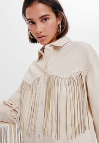 Bershka - Summer jacket - white - 3