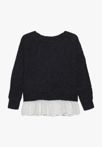 Mini Molly - GIRLS  - Svetr - navy blue - 0