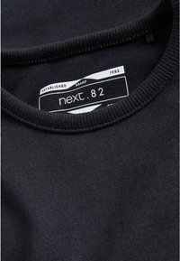 Next - 2 PACK - Basic T-shirt - black - 2