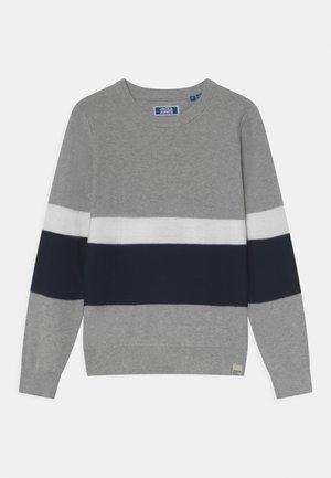 JORNEWPORT CREW NECK JR - Pullover - light grey melange