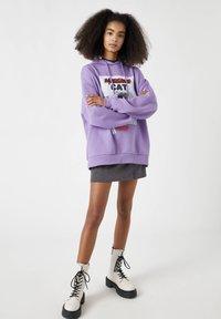 PULL&BEAR - Hoodie - purple - 3