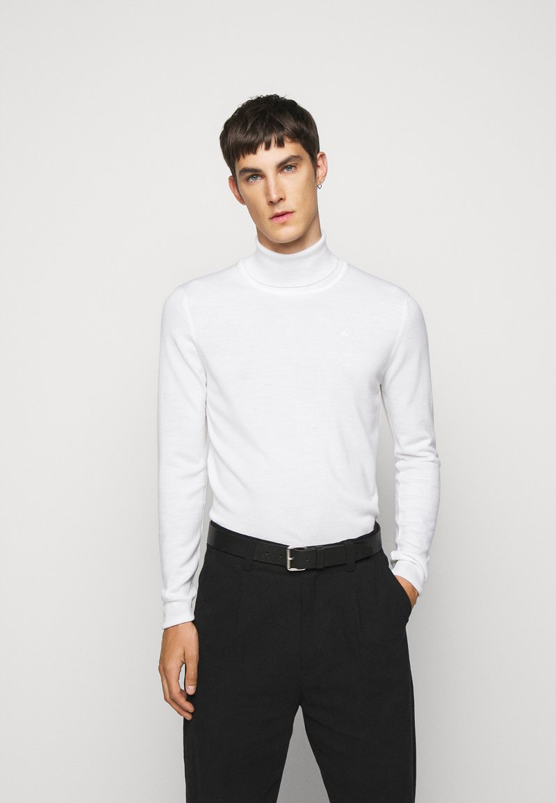 J.LINDEBERG - LYD - Stickad tröja - cloud white
