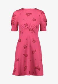 Next - Jersey dress - pink - 3
