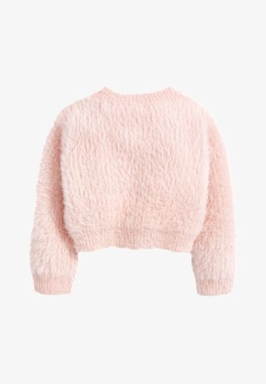 PINK SPARKLE FLUFFY SHRUG CARDIGAN (12MTHS-16YRS) - Cardigan - pink