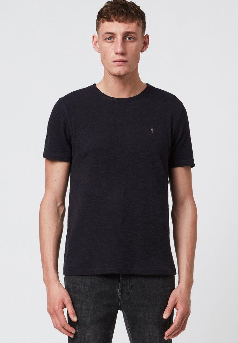 AllSaints - MUSE - Basic T-shirt - blue