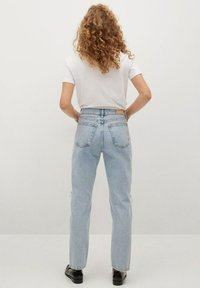 Mango - Relaxed fit jeans - light blue - 2