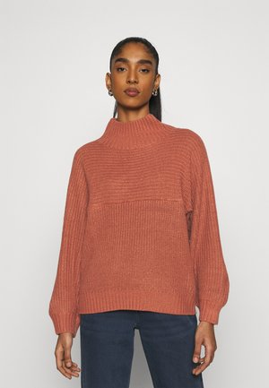 LIBBY - Jumper - orange medium dusty