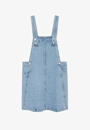 Denim dress - mittelblau