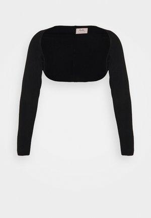 LONG SLEEVE SHRUG - Vest - black
