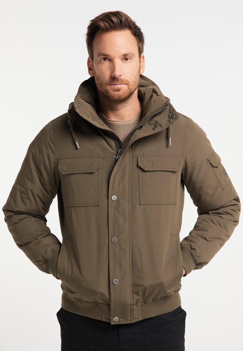 DreiMaster - Winter jacket - militär oliv