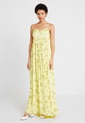 WAY DRESS - Maxi dress - yellow breeze