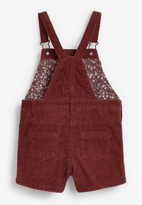 Next - DUNGAREES AND TIGHTS SET - Tuinbroek - red - 3