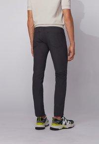 BOSS - DELAWARE - Jeans slim fit - black - 2