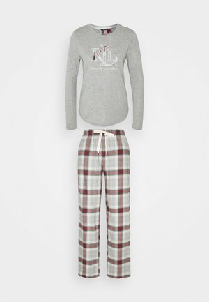 LONG PJ SET - Pigiama - grey