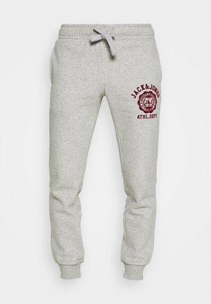 JJIGORDON JJRALPH PANTS  - Pantaloni sportivi - grey melange