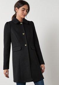Next - PUFF SHOULDER - Short coat - black - 0