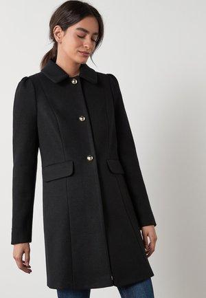 PUFF SHOULDER - Krótki płaszcz - black