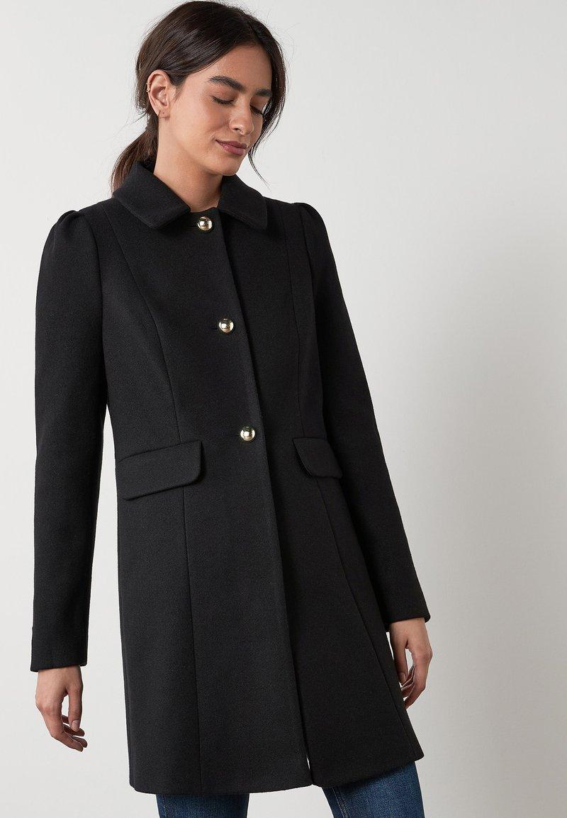 Next - PUFF SHOULDER - Short coat - black