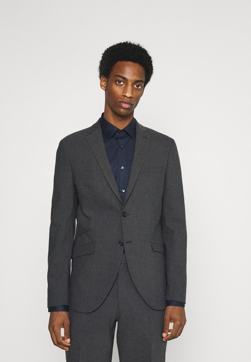Selected Homme - SLHMATTHEW  - Completo - dark grey/structure