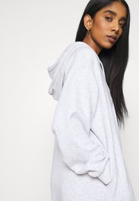Weekday - MARCIE HOOD DRESS - Day dress - grey melange - 3