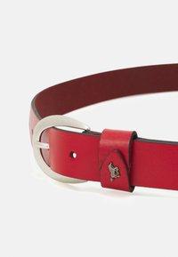 Mustang - Formální pásek - red - 2