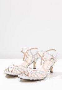 Paradox London Pink - HARPER - Sandaler - pale silver - 3