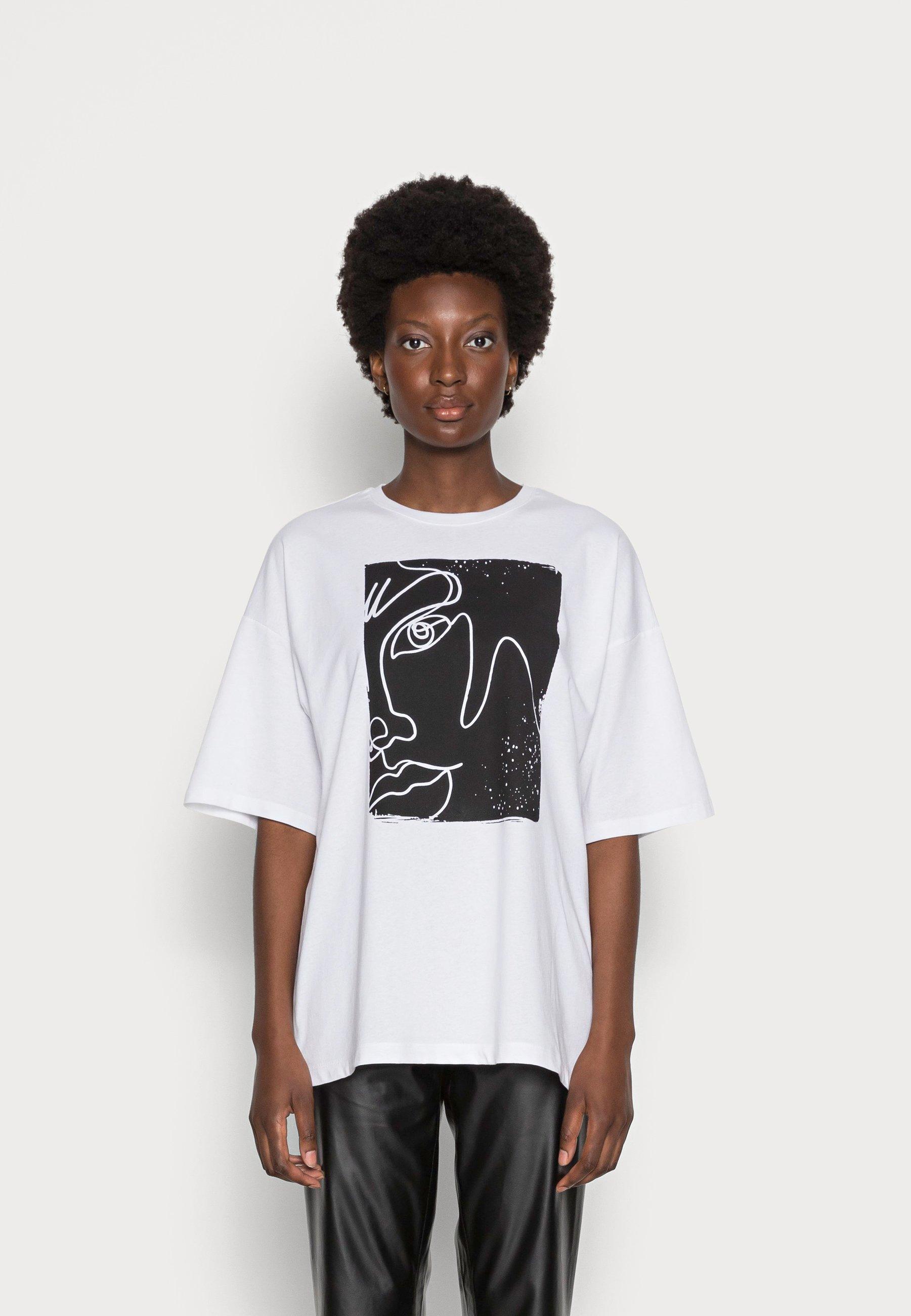 Damen RECOVER LIZ ABSTRACT - T-Shirt print