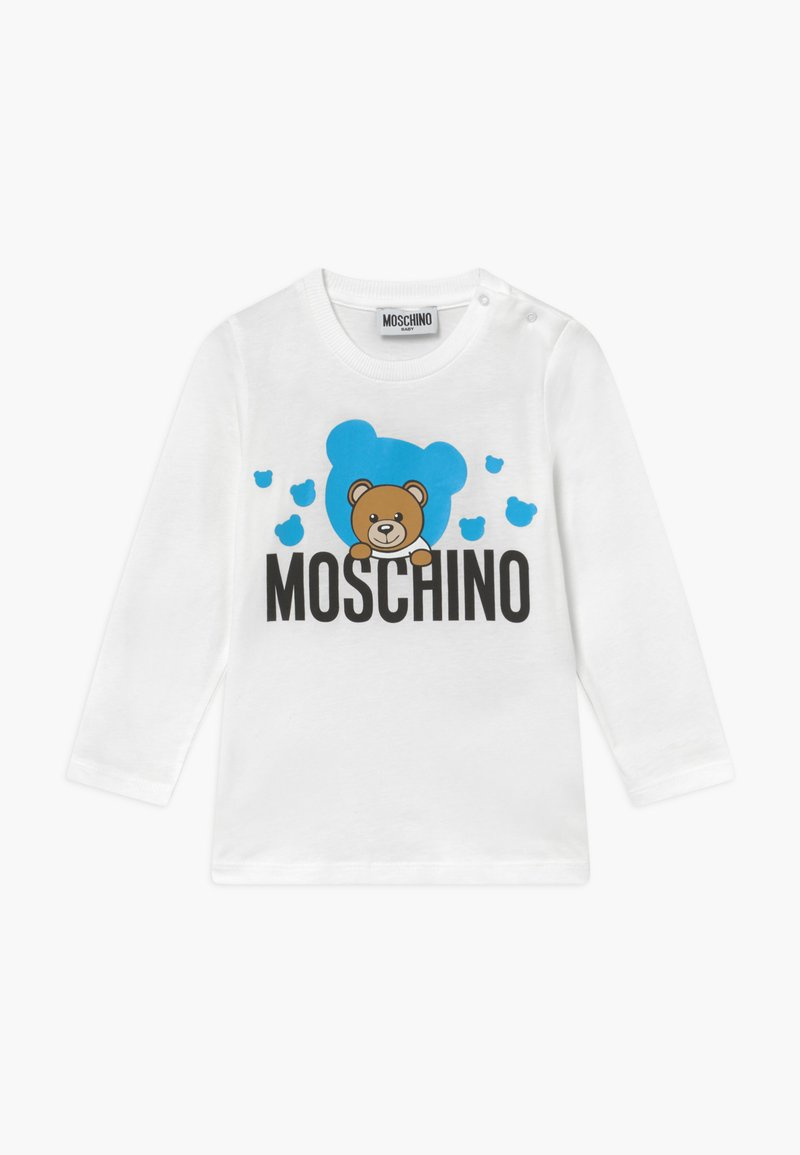 MOSCHINO - Long sleeved top - white
