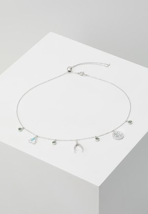 SWA SYMBOL NECKLACE - Halsband - light multi