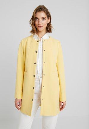 BYDALA COAT - Classic coat - cornsilk