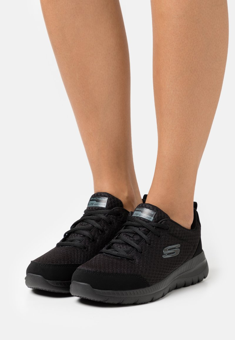 Skechers Sport - BOUNTIFUL - Zapatillas - black