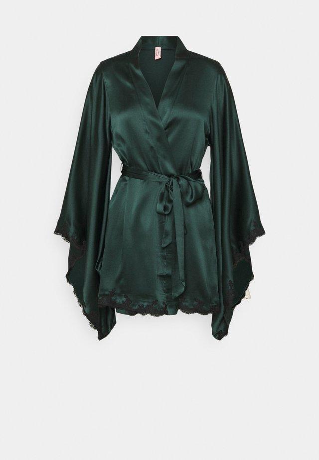 KIMONO - Badjas - dark green/black