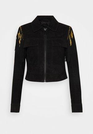 EMILIA - Summer jacket - black