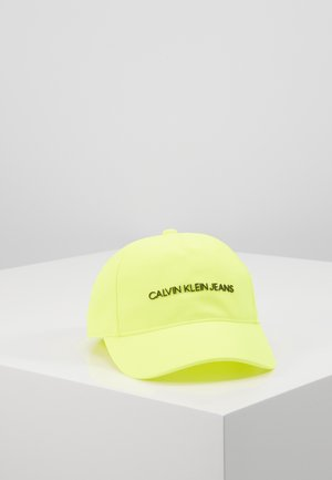 INSTITUTIONAL LOGO - Cap - yellow