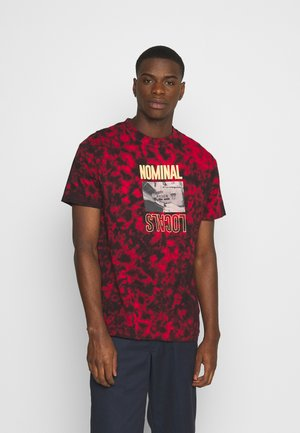 LOCALS TEE - Print T-shirt - red