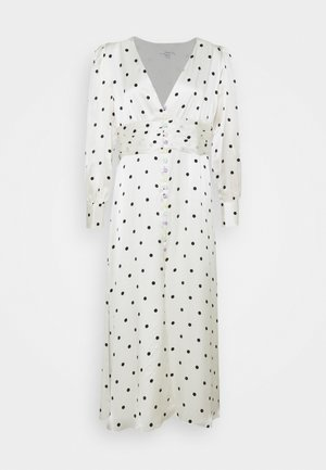 VALENTINA  - Maxi dress - white polka