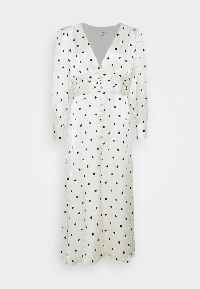 VALENTINA  - Maxi dress - white polka