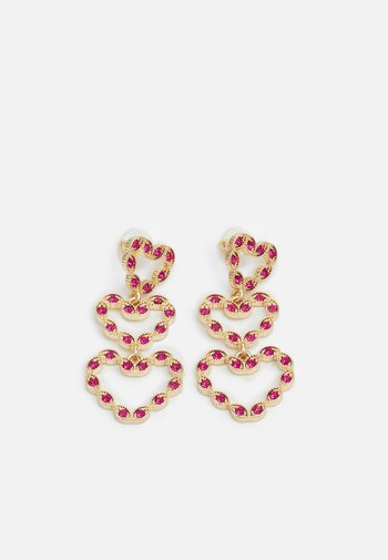 PCKIRSTINA EARRINGS - Earrings - gold-colored