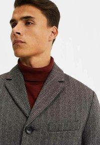 WE Fashion - MANTEL - Classic coat - blended dark grey - 3