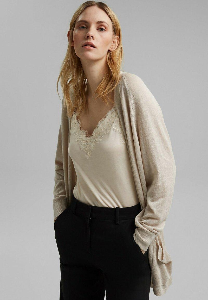 Esprit - Cardigan - light beige