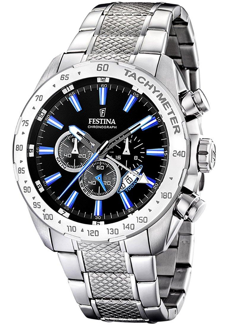 Festina - Chronograph watch - silber/schwarz