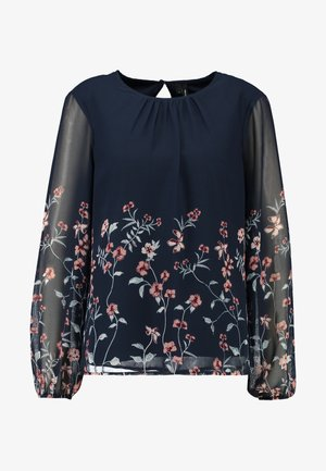 Blusa - navy blazer