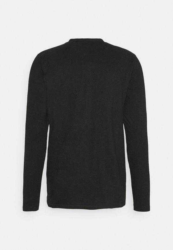 Nominal REACT GRANDAD SOLID - Koszula - black/czarny Odzież Męska IDGS