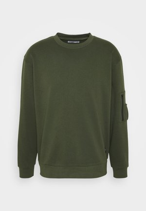 COMBAT CREW - Sweatshirts - khaki