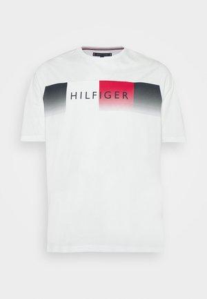 COOL FADE TEE - T-shirt print - white