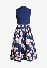 Chi Chi London - CYDNE DRESS - Sukienka koktajlowa - navy - 5